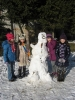 Zabawa na śniegu